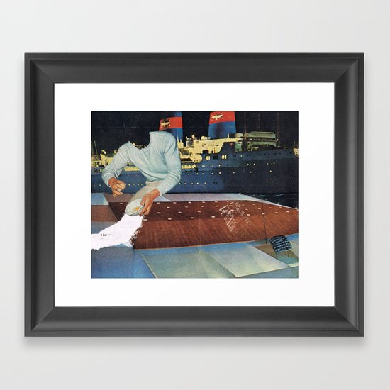 ...the instant you give them the word Framed Art Print