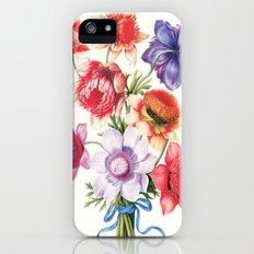 XI. Vintage Flowers Botanical Print by Pierre-Joseph Redouté - Anemones iPhone (5, 5s) Slim Case