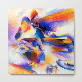 Stanton Macdonald Wright Airplane Synchromy Metal Print