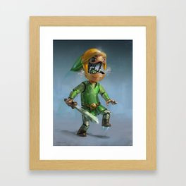 Link to the Future Framed Art Print