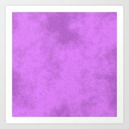 Grape Cotton Candy Art Print