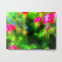 Flower Explosions Metal Print