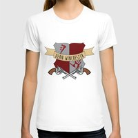 dean winchester T-shirts featuring Dean Winchester Crest by Andi Robinson