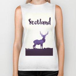 Scotland Biker Tank