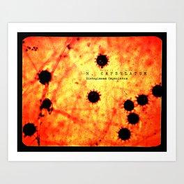 Slide #17 - H. Capsulatum (orange & yellow) Art Print