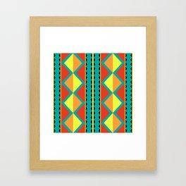 Pizzazz: 9 of 9 Framed Art Print