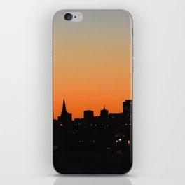 City Silhouette iPhone Skin