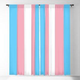 Transgender Pride Flag Blackout Curtain