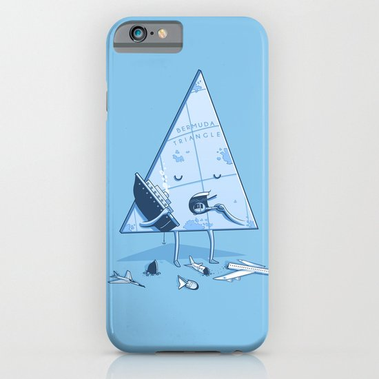 Bermuda triangle iPhone & iPod Case