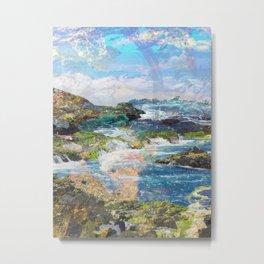 Coastlines Metal Print