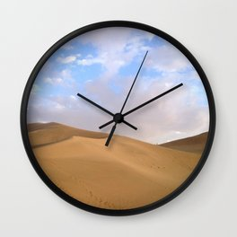 desert photography Wall Clock