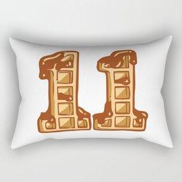Eleven Cookies Rectangular Pillow