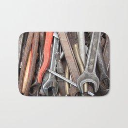 old tools Bath Mat