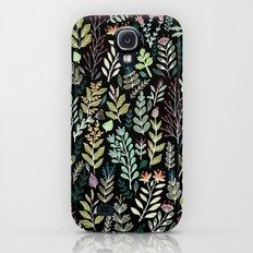 Dark Botanic Galaxy S4 Slim Case