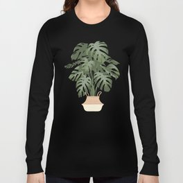 Monstera deliciosa Long Sleeve T-shirt