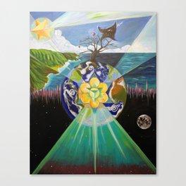 Earth's Change Canvas Print