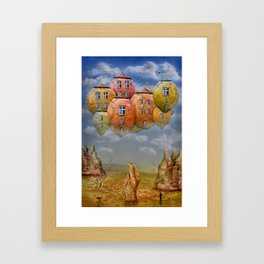 Sweet Home Framed Art Print