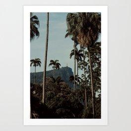 Rio de Janeiro jungle Art Print