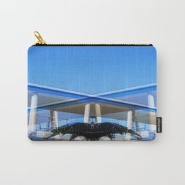 Metallic Palm Carry-All Pouch