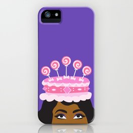 Coronation Cake fit for a Queen iPhone Case