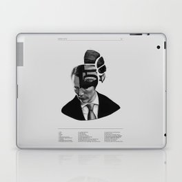 Hannibal Lecter Phrenology Laptop & iPad Skin