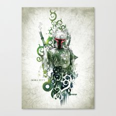 Star Wars _ Boba Fett Canvas Print