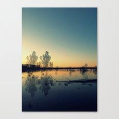 We Met in the Stillness of Twilight Canvas Print