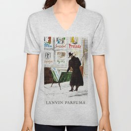 The Art Collector Unisex V-Neck