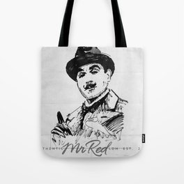 Mr Red's Poirot Tote Bag