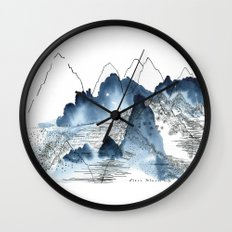 Love of Mountains Wall Clock