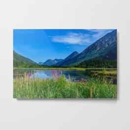 God's Country 4129 - Alaska Metal Print