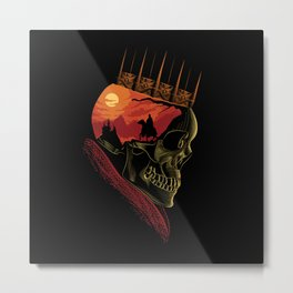 King Nothing Metal Print