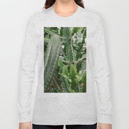 Botanical Cactus Long Sleeve T-shirt