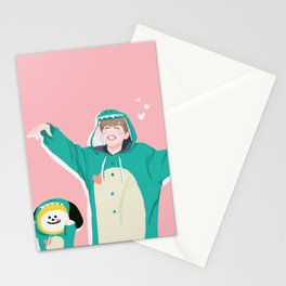 Dinosaur Chimmy (Pink Ver.) Stationery Cards
