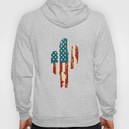 AMERICA PATRIOTIC 4TH OF JULY graphicS CACTUS AMERICAN FLAG design Hoody