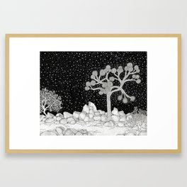 Joshua Tree Framed Art Print