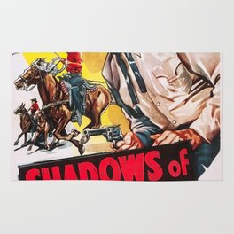 Vintage poster - Shadows of Tombstone Rug