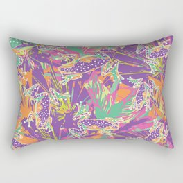 Tropical summer rainforest party Rectangular Pillow
