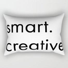 smart. creative.kind. attractive. Rectangular Pillow