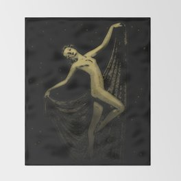 Deco Goddess Throw Blanket