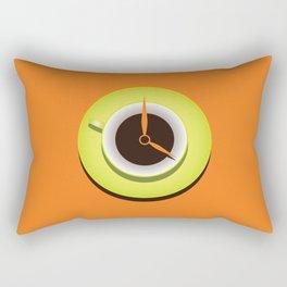 It's Coffee Time Rectangular Pillow