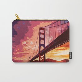 Golden Gate Bridge - San Francisco Carry-All Pouch