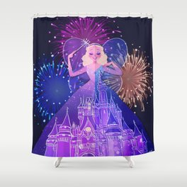 As Dreamers Do Shower Curtain