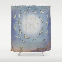 Earth Speaks Shower Curtain
