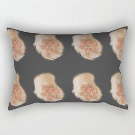 Soft Cat Paw Rectangular Pillow