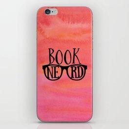 Book Nerd iPhone Skin