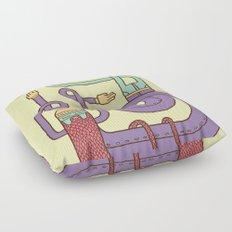 Go Snowboarding Floor Pillow