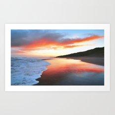 A beautiful sunrise Art Print