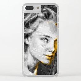 InkGIRL Clear iPhone Case