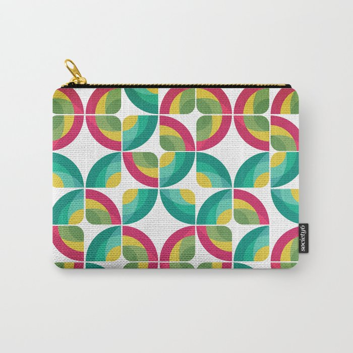 Passion Fruit Pattern Carry-All Pouch